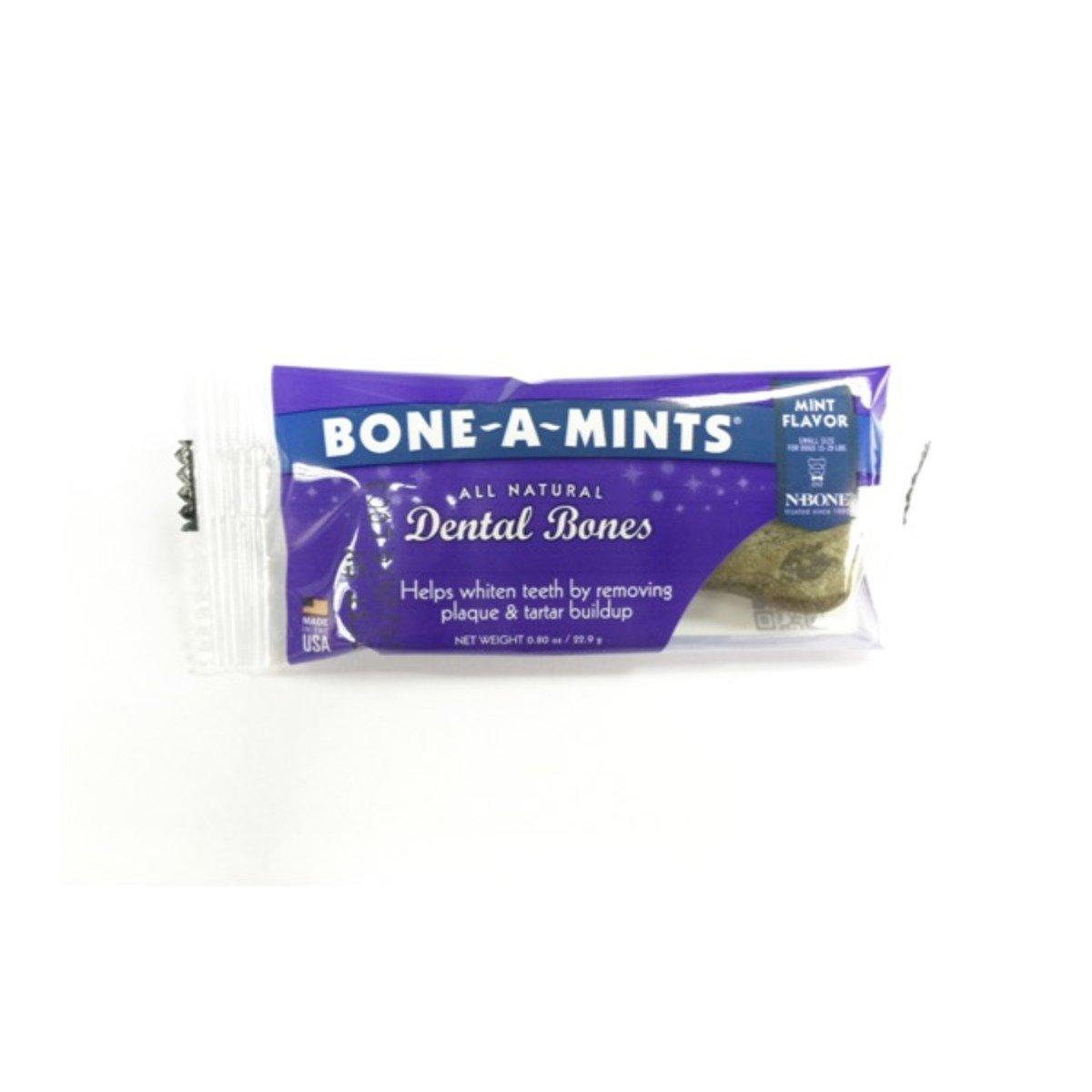 美國 BONE-A-MINTS 薄荷味潔齒骨單支裝(細)0.80oz