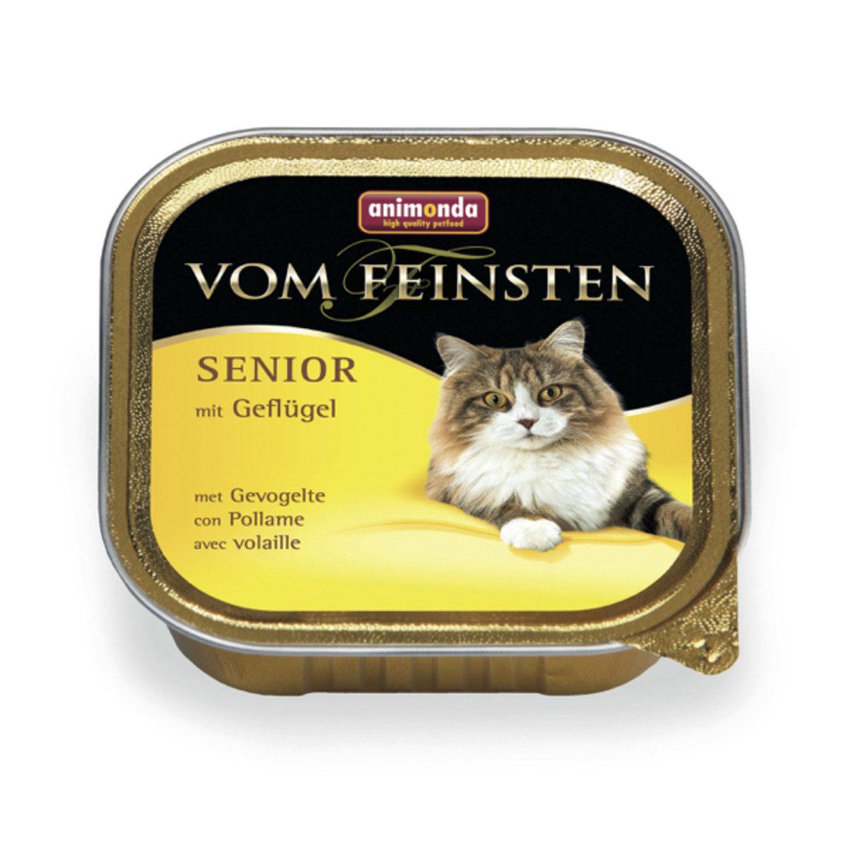 德國 高齡貓配方罐頭(雞肉) 100g