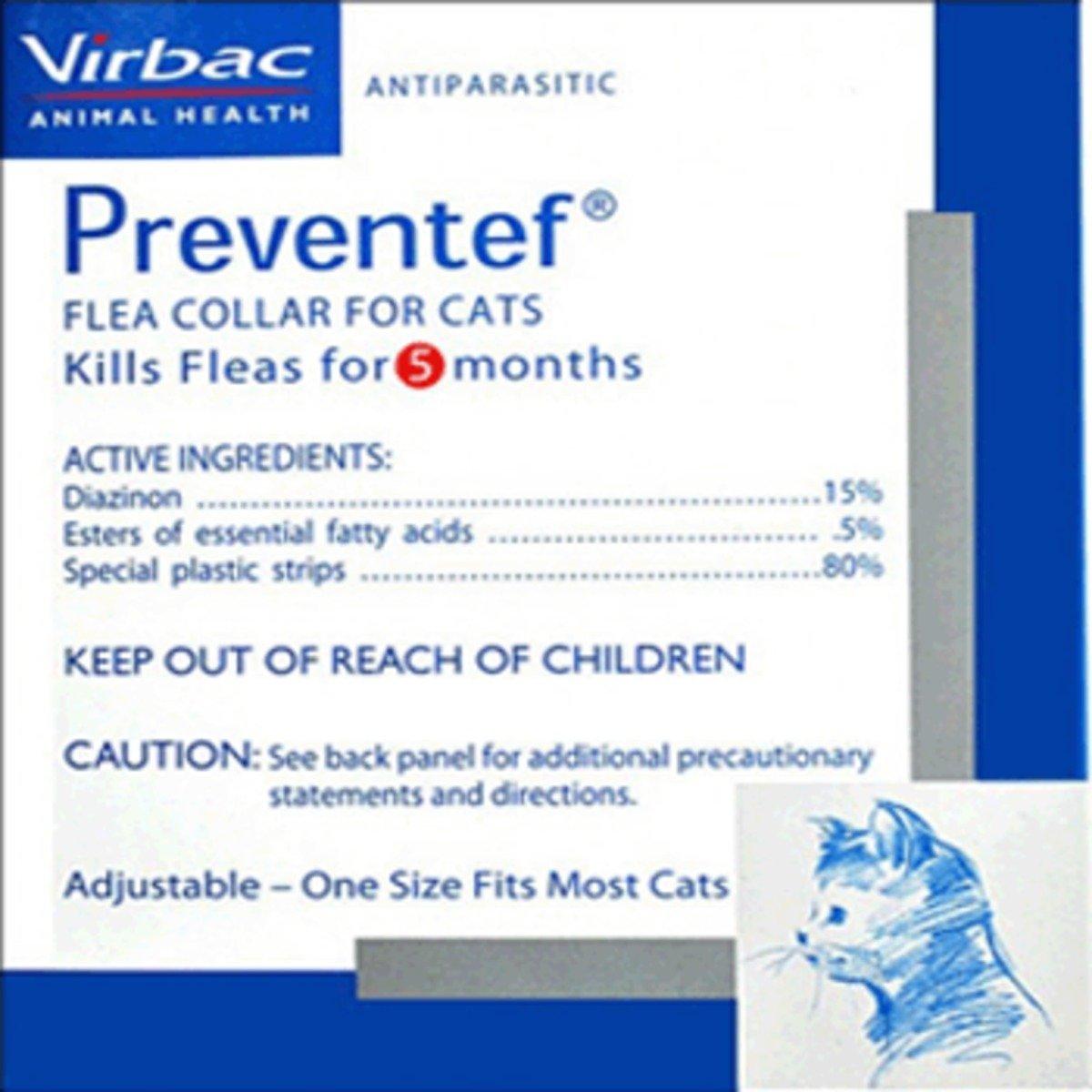 Preventef Cat Collar貓用除蚤項圈