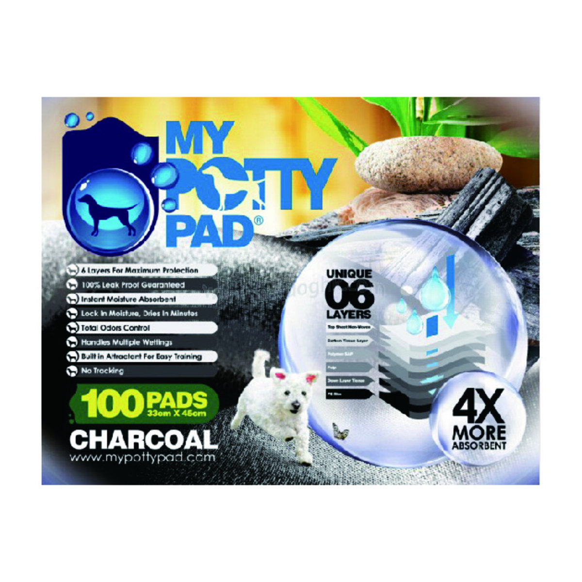 Charcoal寵物尿墊 33 cm x 45 cm