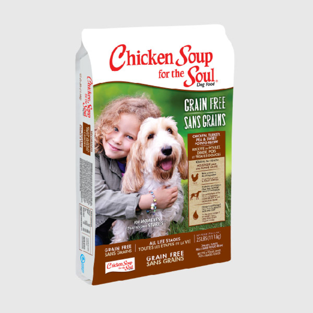 【近期清貨 買一送一】CS美國無穀物雞肉+火雞+豌豆+甘薯狗糧 4磅