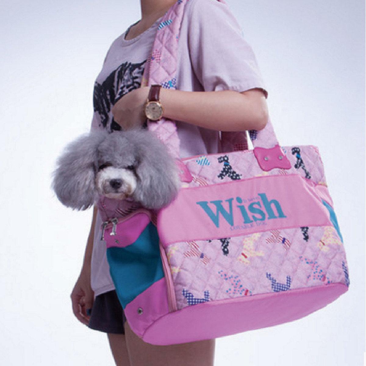 Wish系列粉紅色出街袋