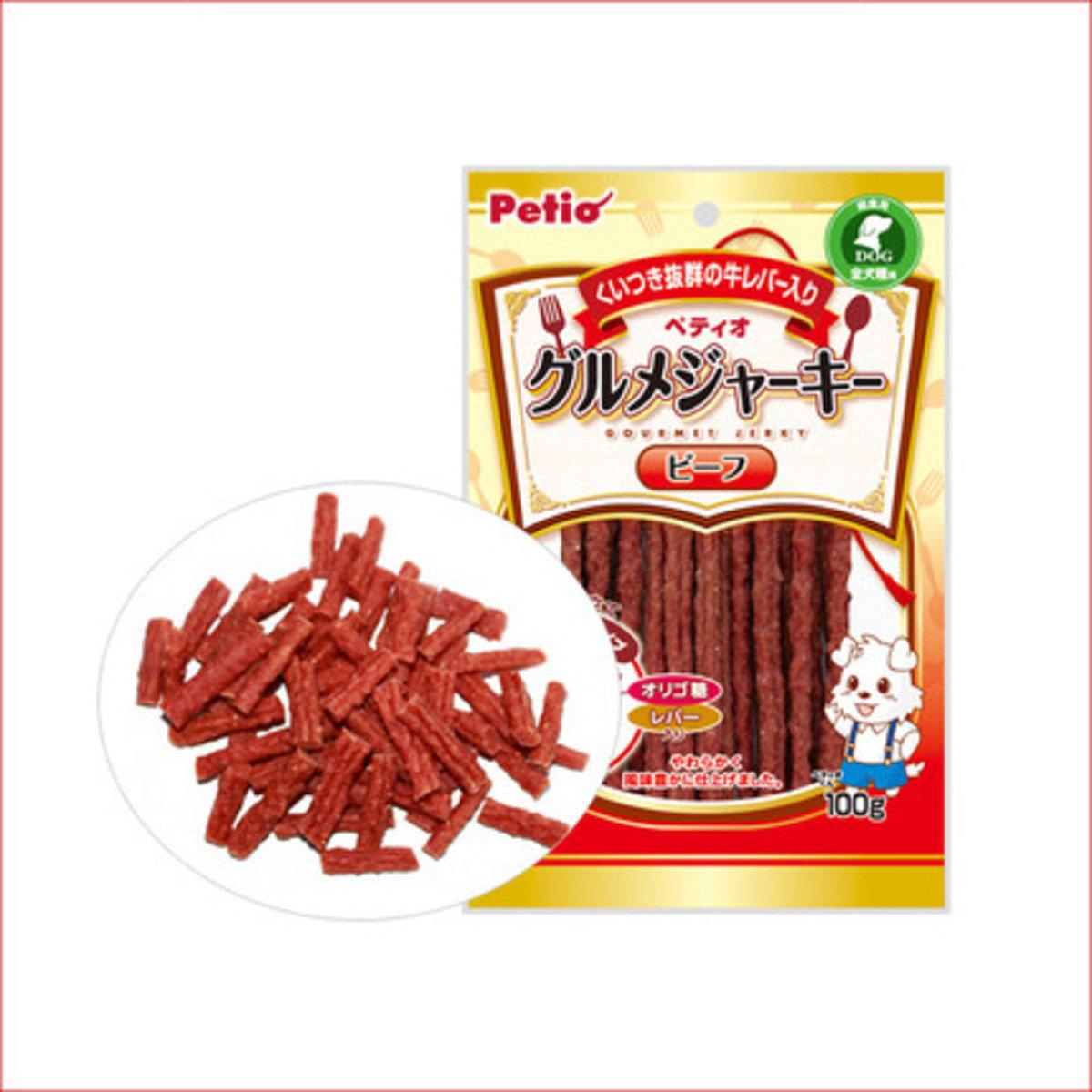 Petio 狗小食牛肉條(QC71001) 100克