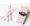 繽紛紙吸管 (淺粉紅色斜紋) 50pcs/PACK