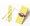 繽紛紙吸管 (深黃色斜紋) 50pcs/PACK
