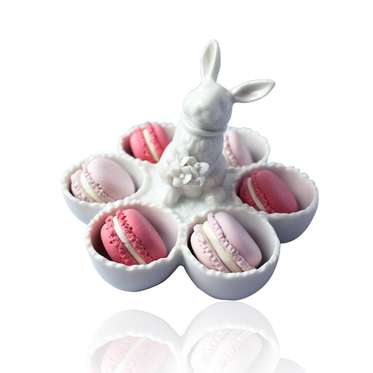 小白兔飾物盤/ 雞蛋盤/調味盤