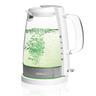 電熱德國玻璃水煲1.2L  (淺綠光LED)  x 1個 + 小鳥咖啡杯 (200ML) x 2隻