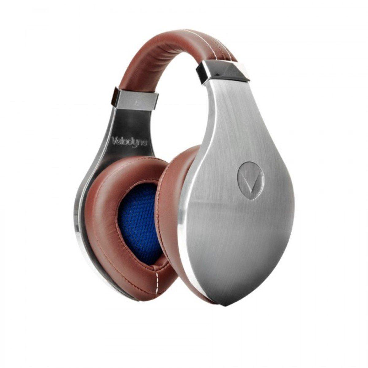 Velodyne vTrue Over-Ear Studio Headphones Silver