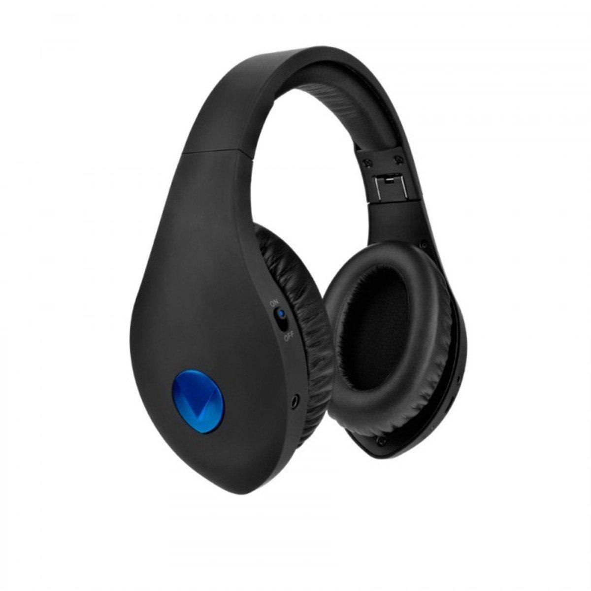 Velodyne vQuiet Over-Ear Noise Cancelling Headphones Black