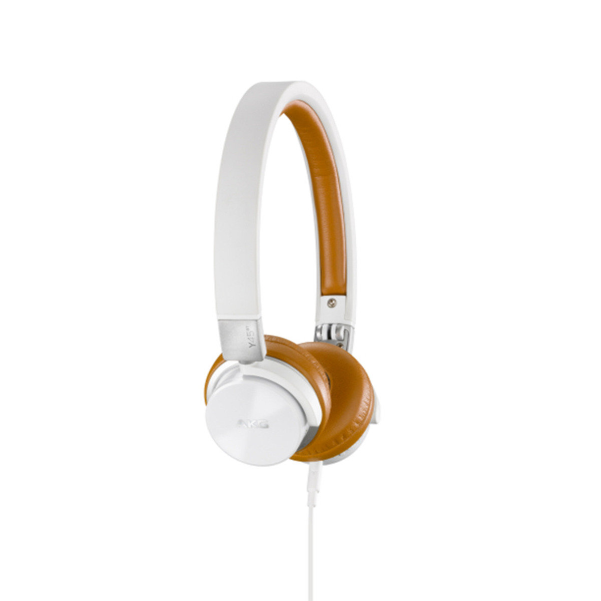 AKG Y45BT On ear High Performance foldable Bluetooth Headset White