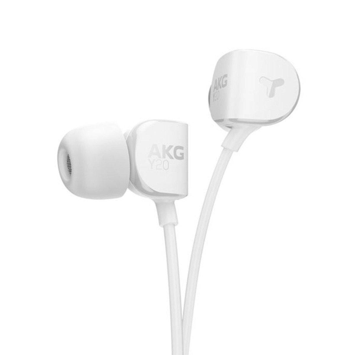 AKG Y20 Ultra-comfortable In-ear headphone White