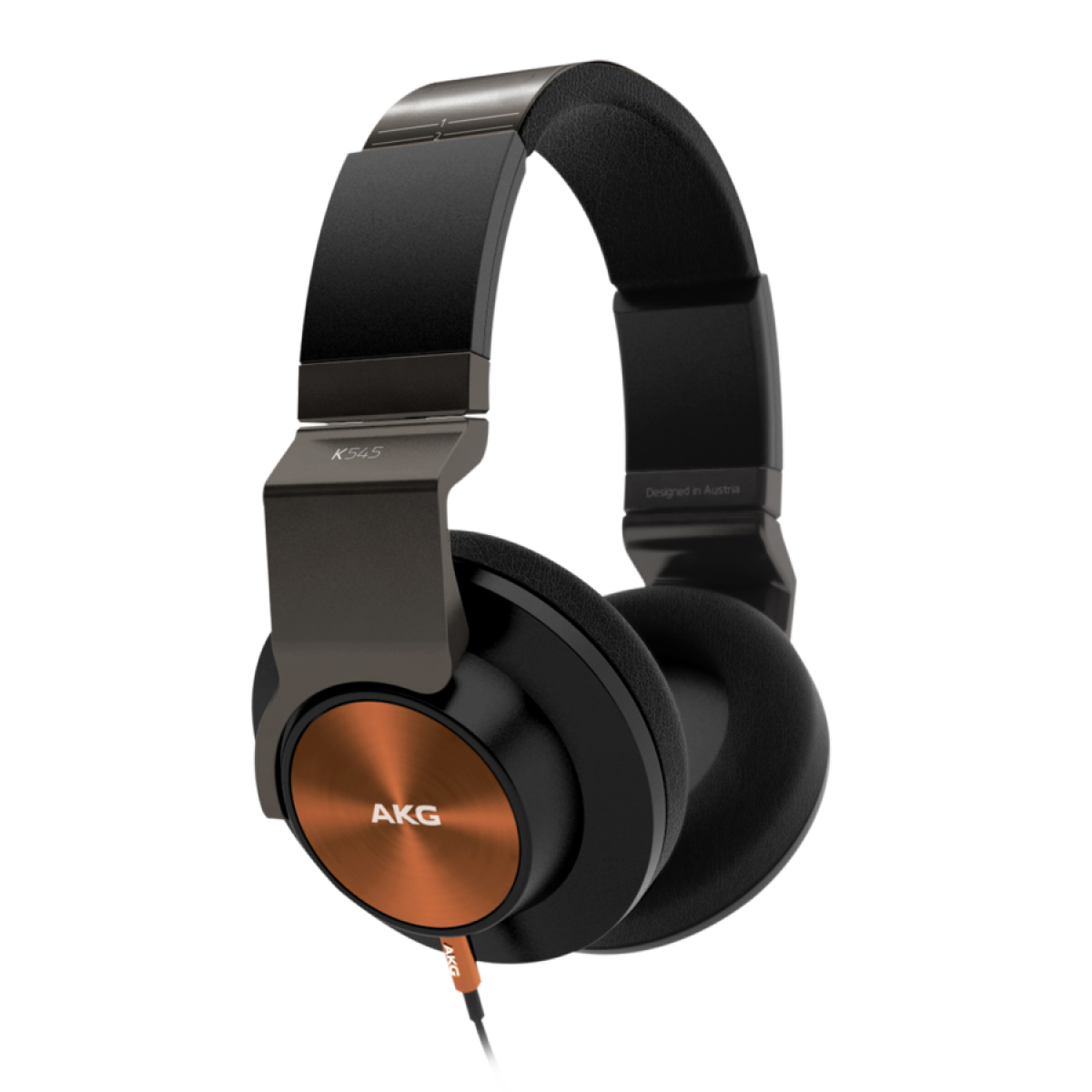 AKG K545 Over ear Headphones Black/Orange