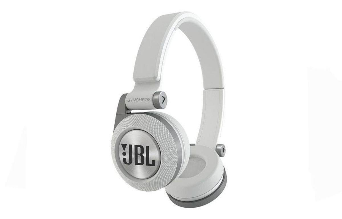 JBL Synchros E30 On ear Headphones White