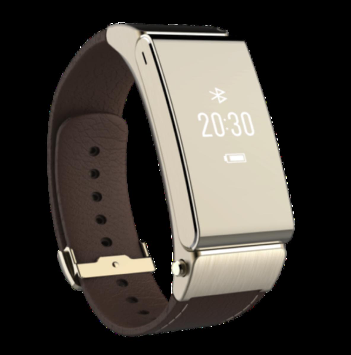 HUAWEI TalkBand B2智慧型男裝手錶(金) 行貨一年保養