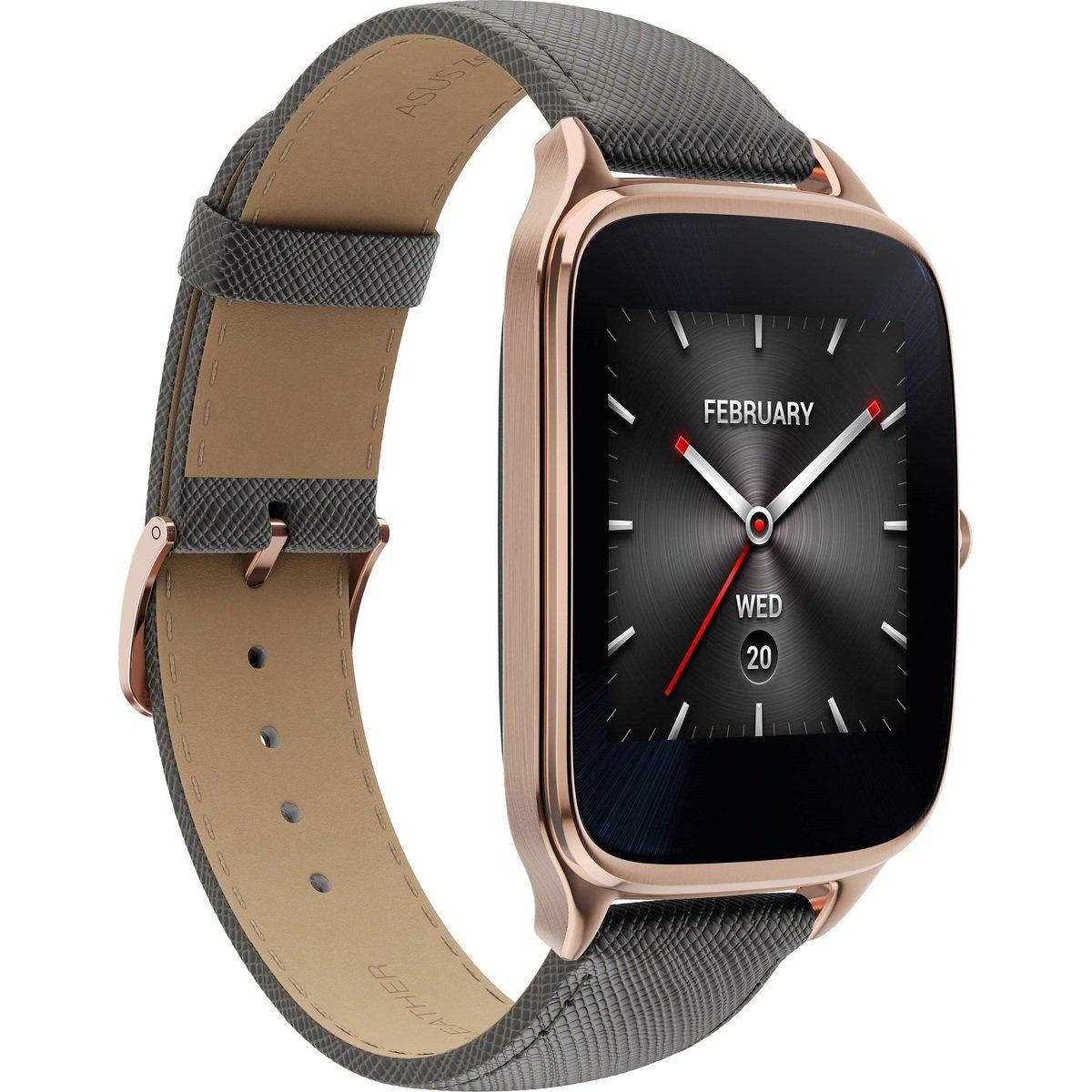 華碩Zenwatch 2 Android 4GB智慧型男裝手錶金色(WI501Q-4LGRY0010)