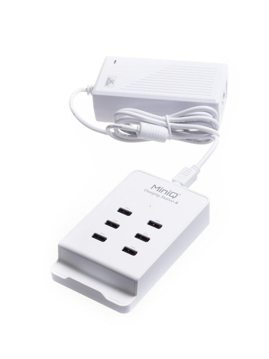 MiniQ 快速充電器 CS-6 - 白色