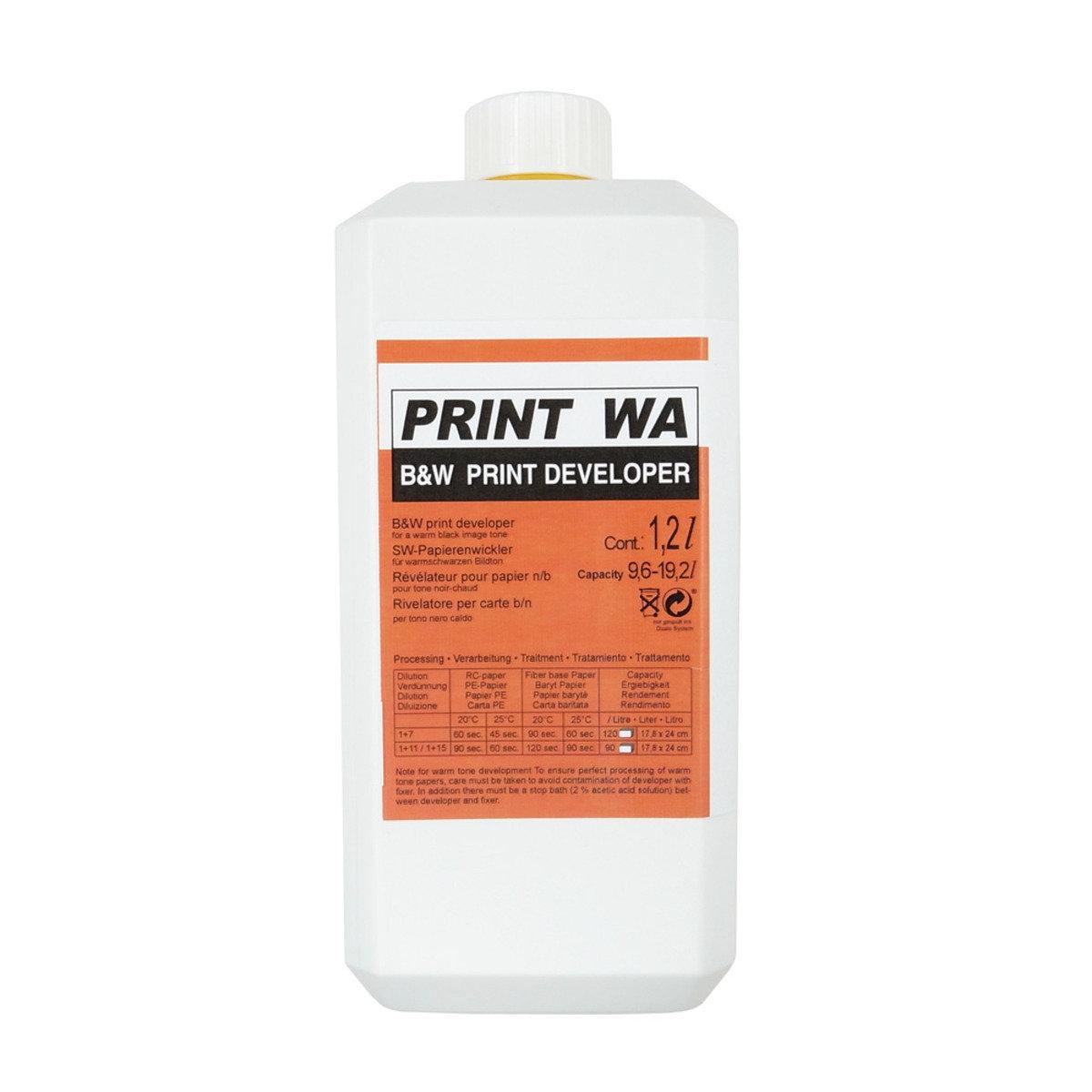 Compard Print WA 1.2L 暖調相紙顯影 (Agfa 原始配方)
