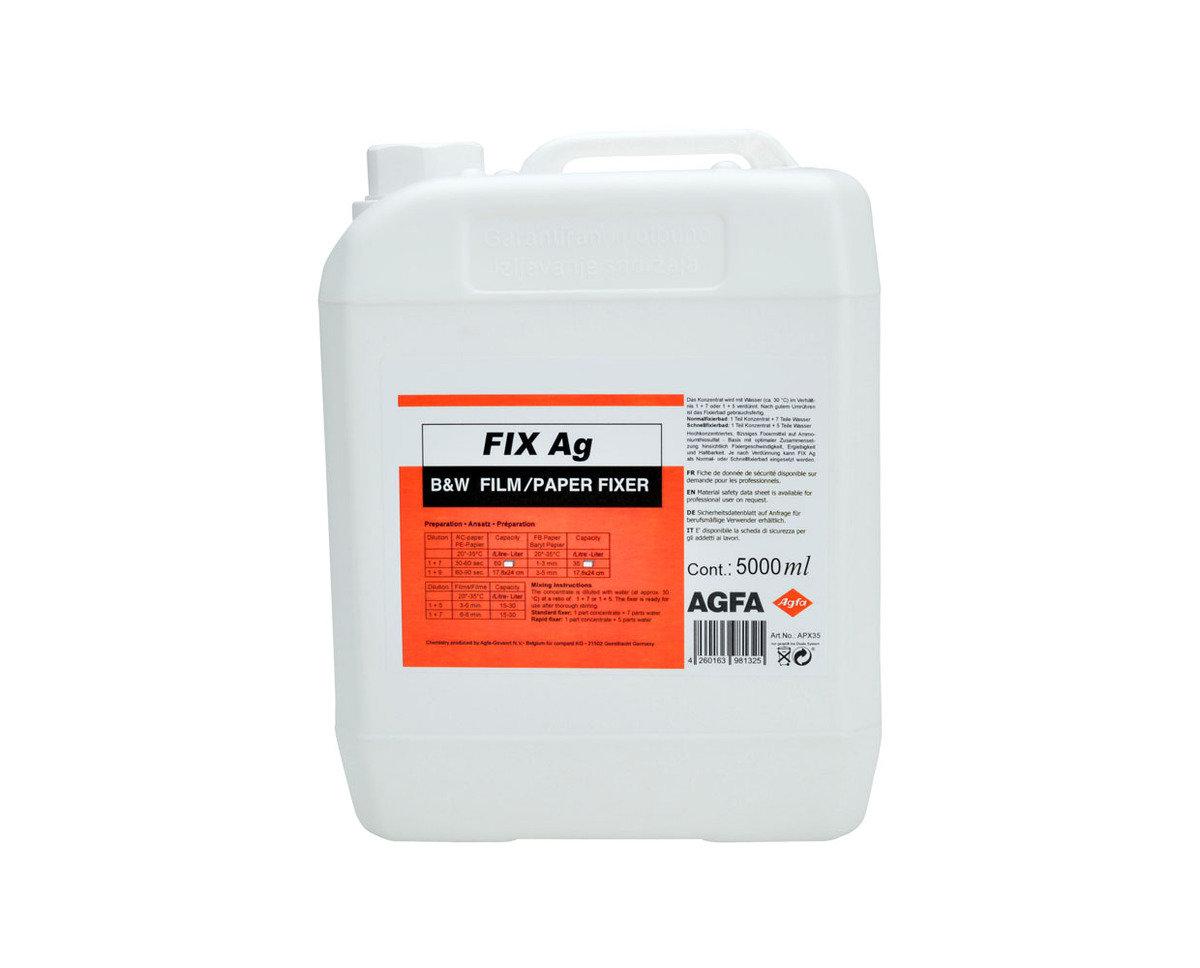 Agfa Gavert FIX-Ag 定影劑 5L