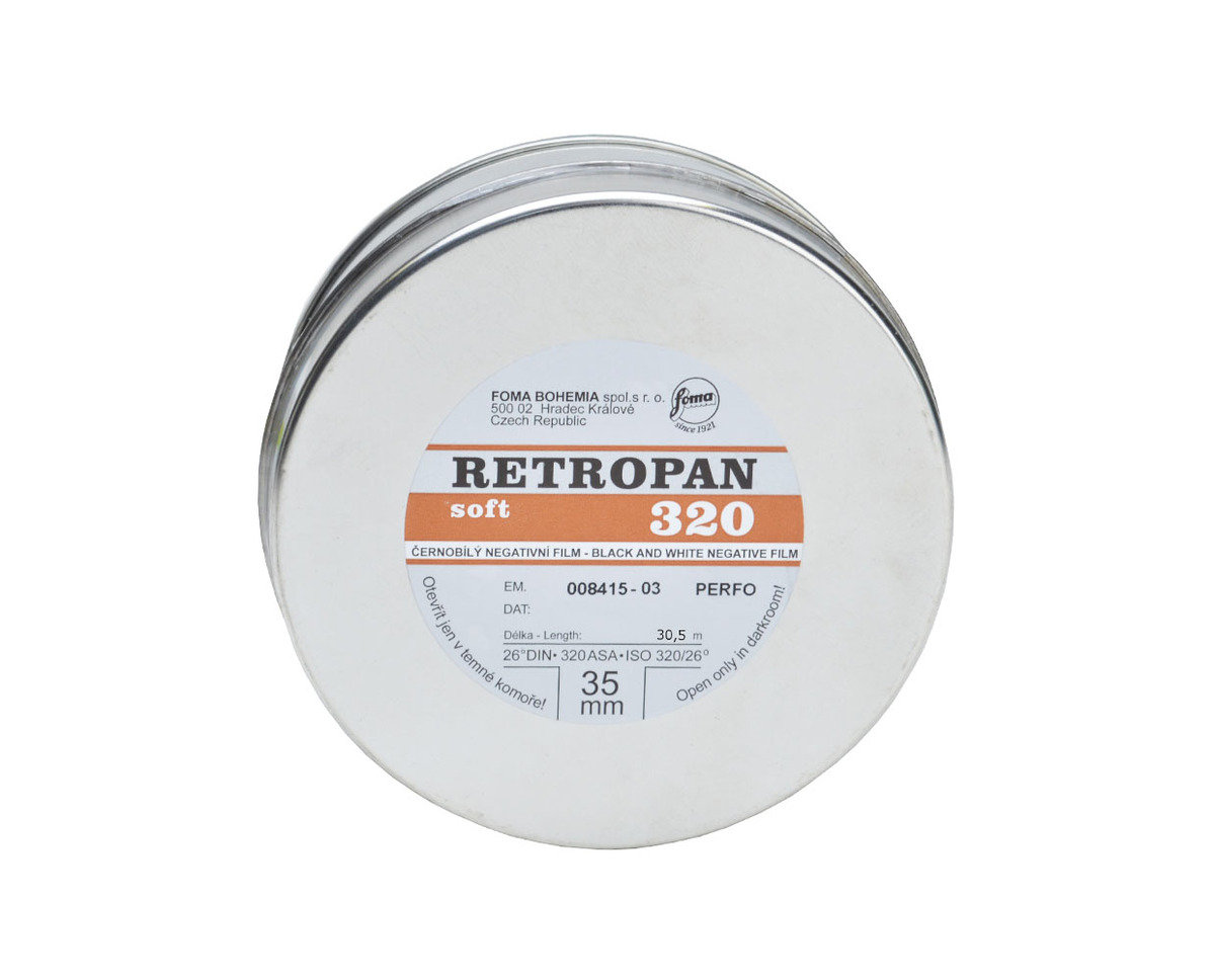 Retropan 320 Soft 35mm x 30.5m