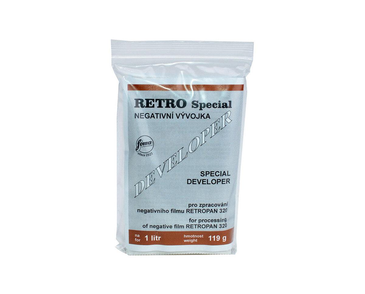 Retro Special powder negative developer for