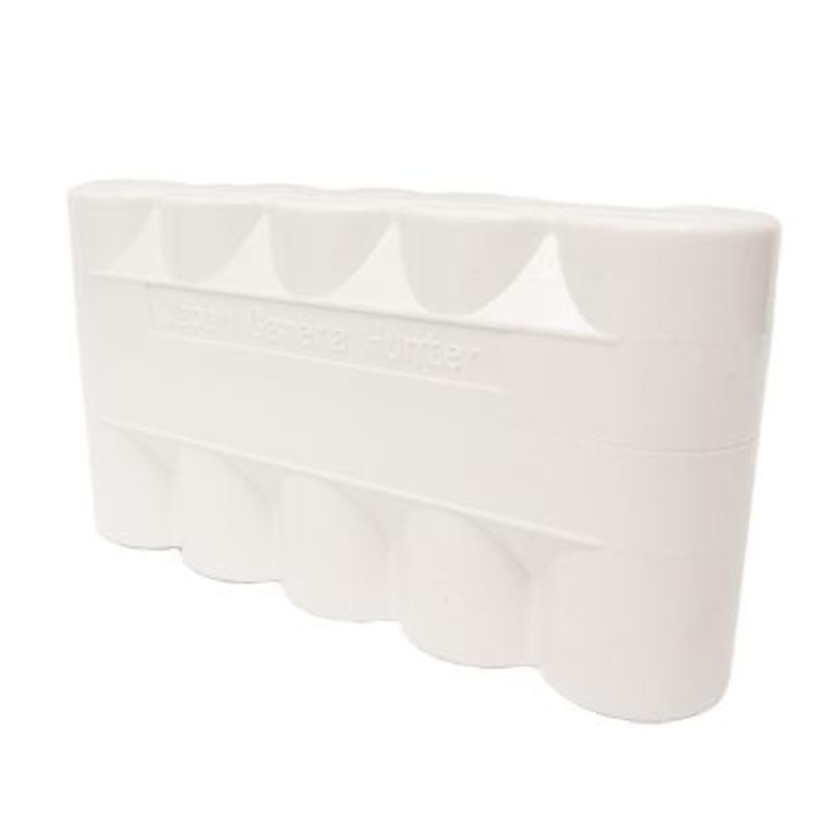 菲林盒 120 5筒裝 (白色)