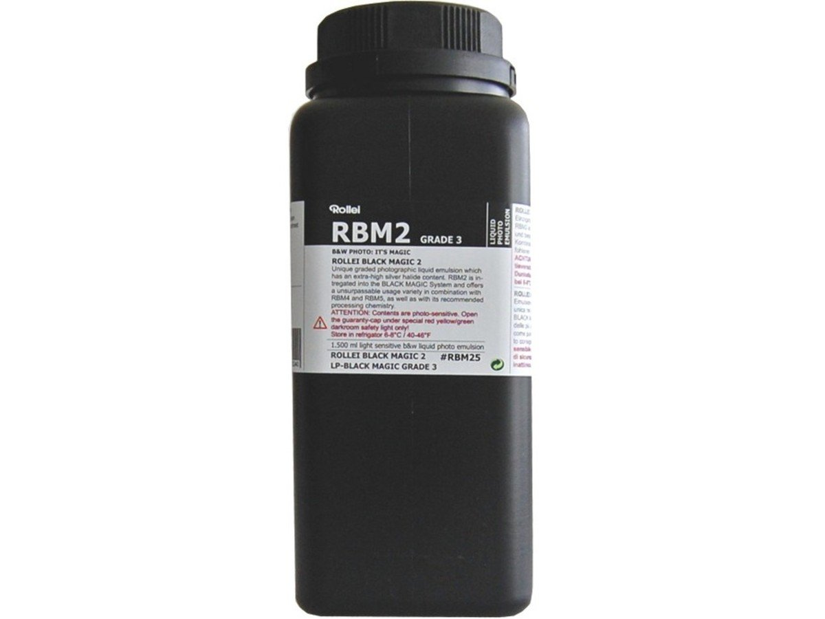 RBM Black Magic B&W Liquid Emulsion GRADE3 (Normal/Hard)