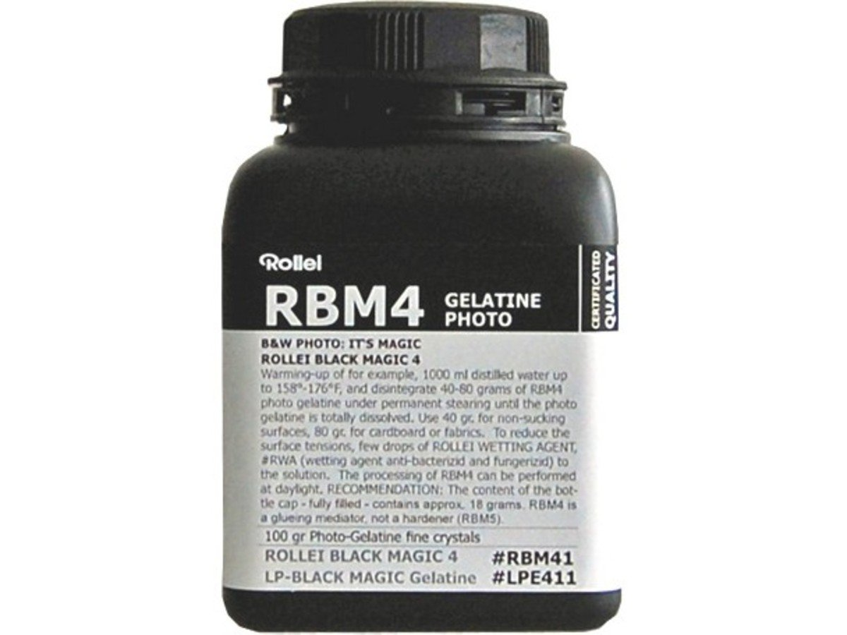 RBM Black Magic B&W Liquid Emulsion Photo Gelatine