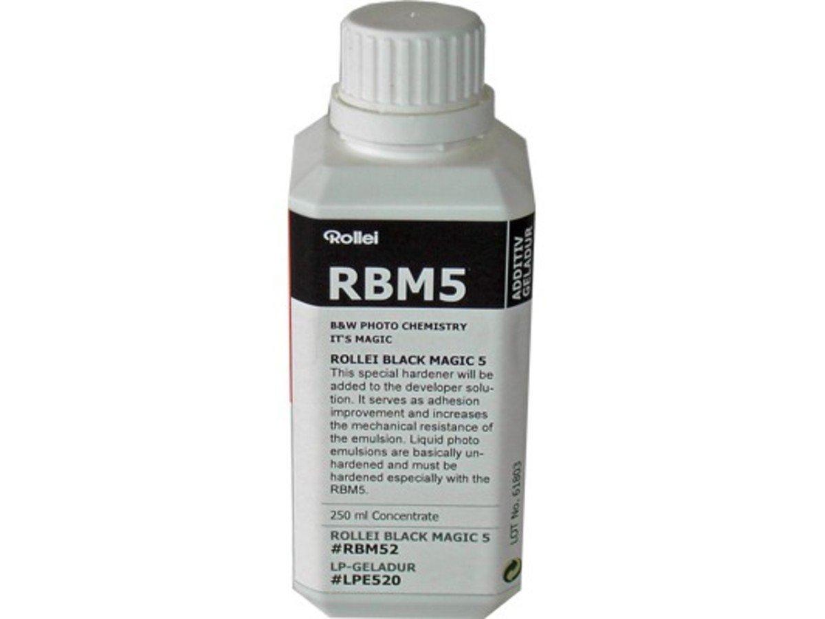 RBM Black Magic B&W Liquid Emulsion Additiv Dev Hardner