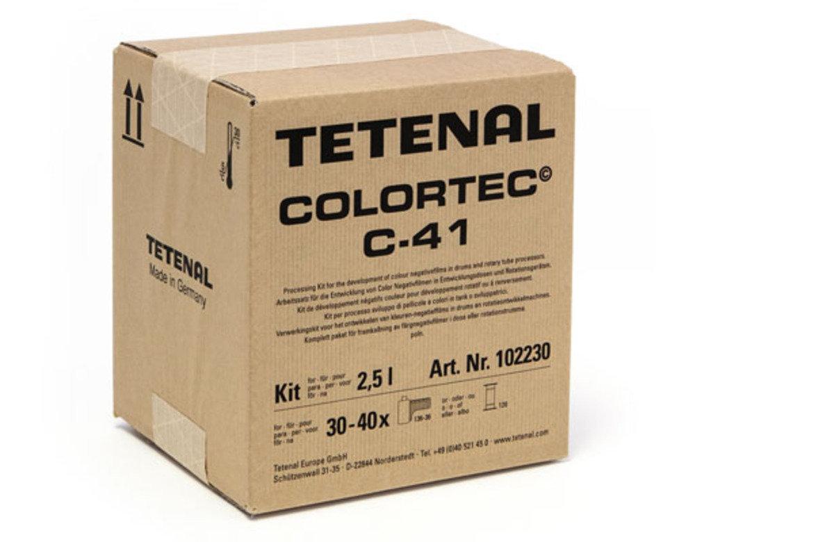 Colortec C-41 彩色沖洗套裝 2.5L