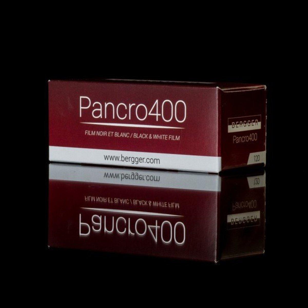 法國百合牌 Pancro400 120 黑白菲林