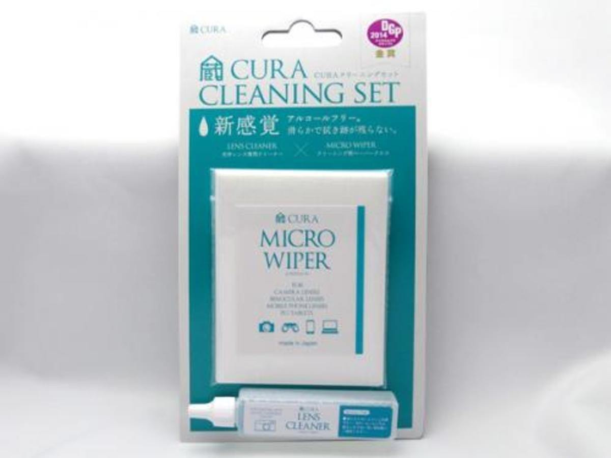 CURA日本光學清潔套裝 (15mL鏡頭清潔液+30張微纖維抹鏡紙)
