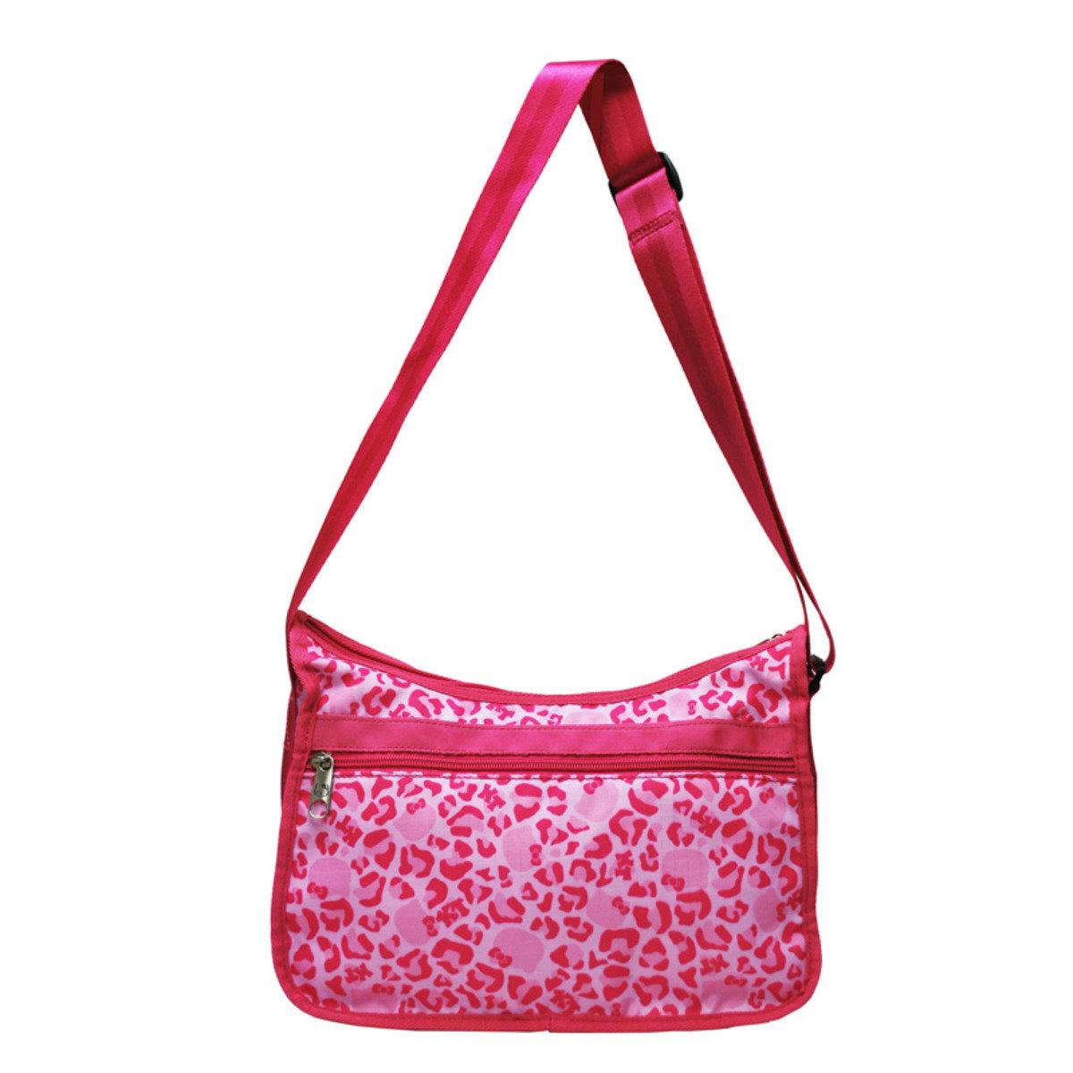 Hello Kitty Leopard Pink 系列 - 斜揹袋