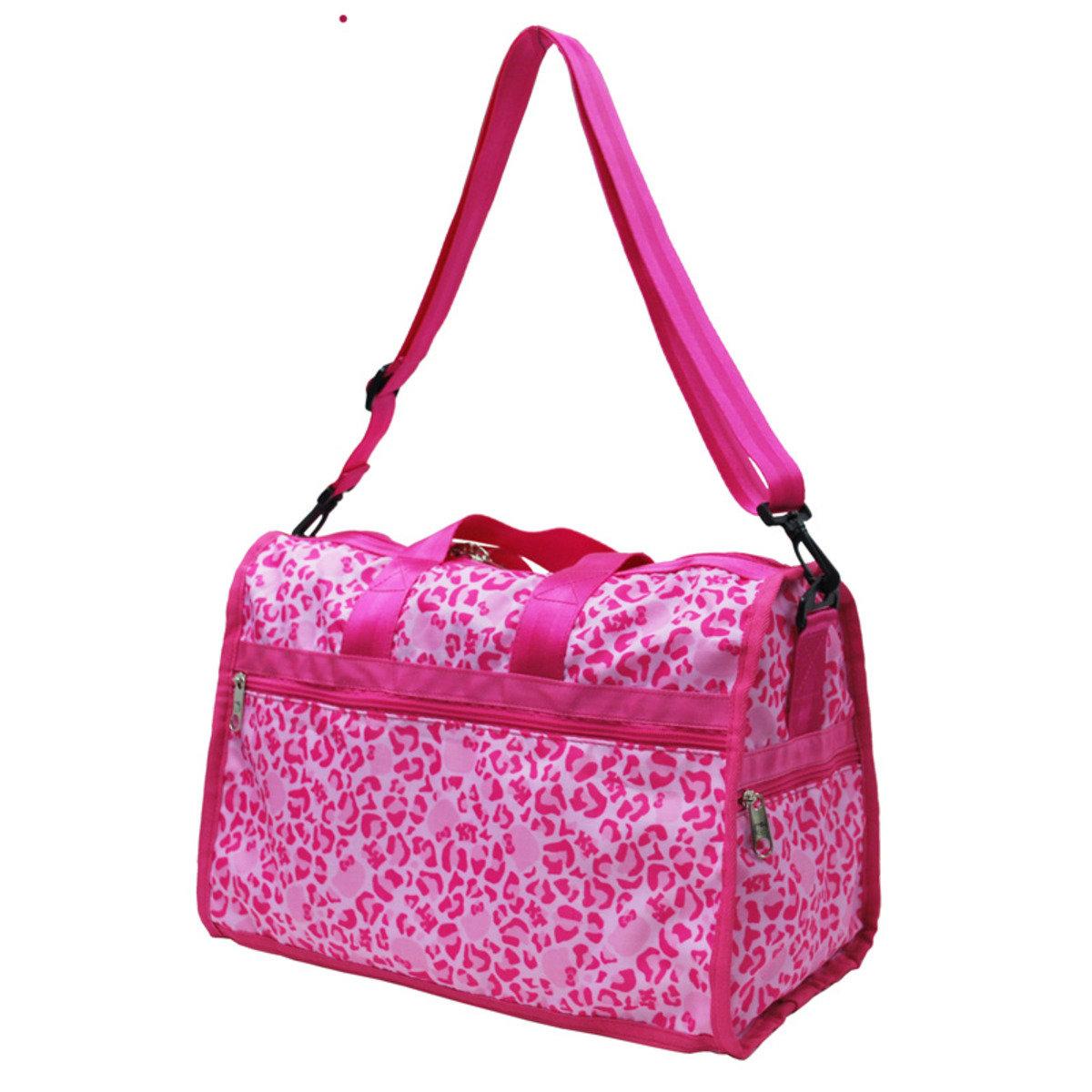 Hello Kitty Leopard Pink 系列 - 旅行袋