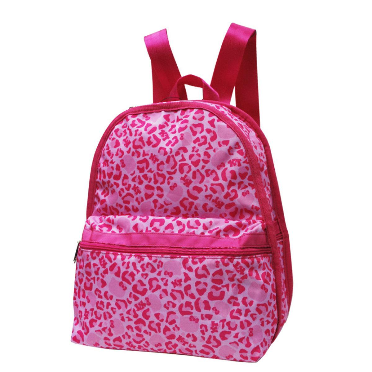 Hello Kitty Leopard Pink 系列 - 背囊