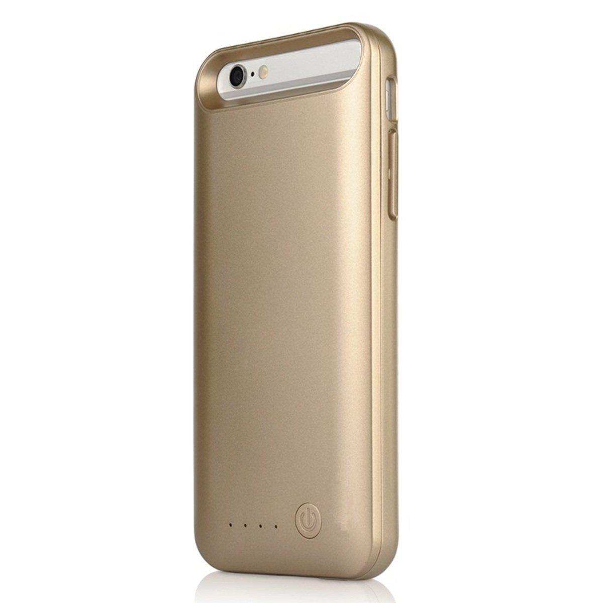 """[iPhone 6 4.7""""專用] 3100mAh 充電保護殼 (可循環充電) (金)"""