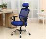 人體工學辦公椅-藍色