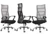 人體工學辦公椅-淺灰色