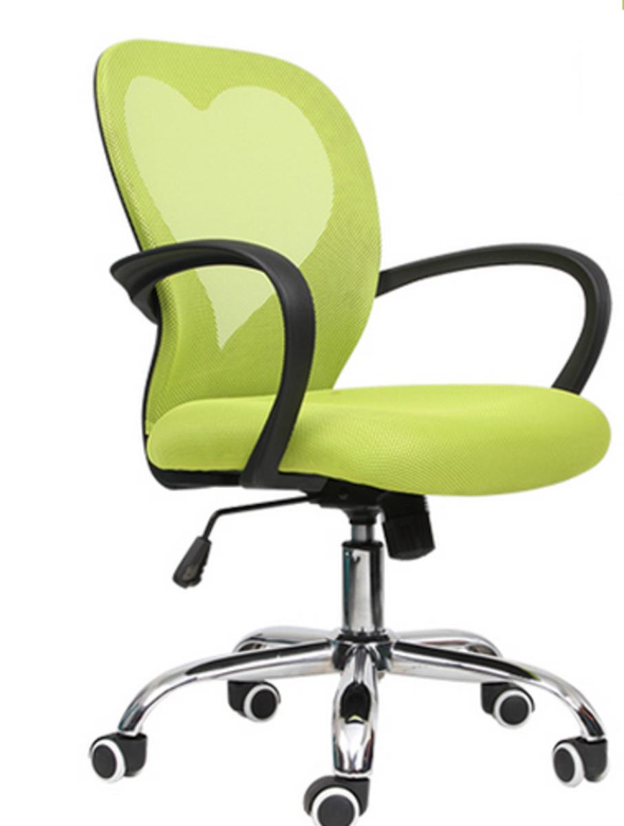 人體工學辦公椅-蘋果綠色