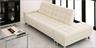 可調式梳化床連儲物腳踏(白色)