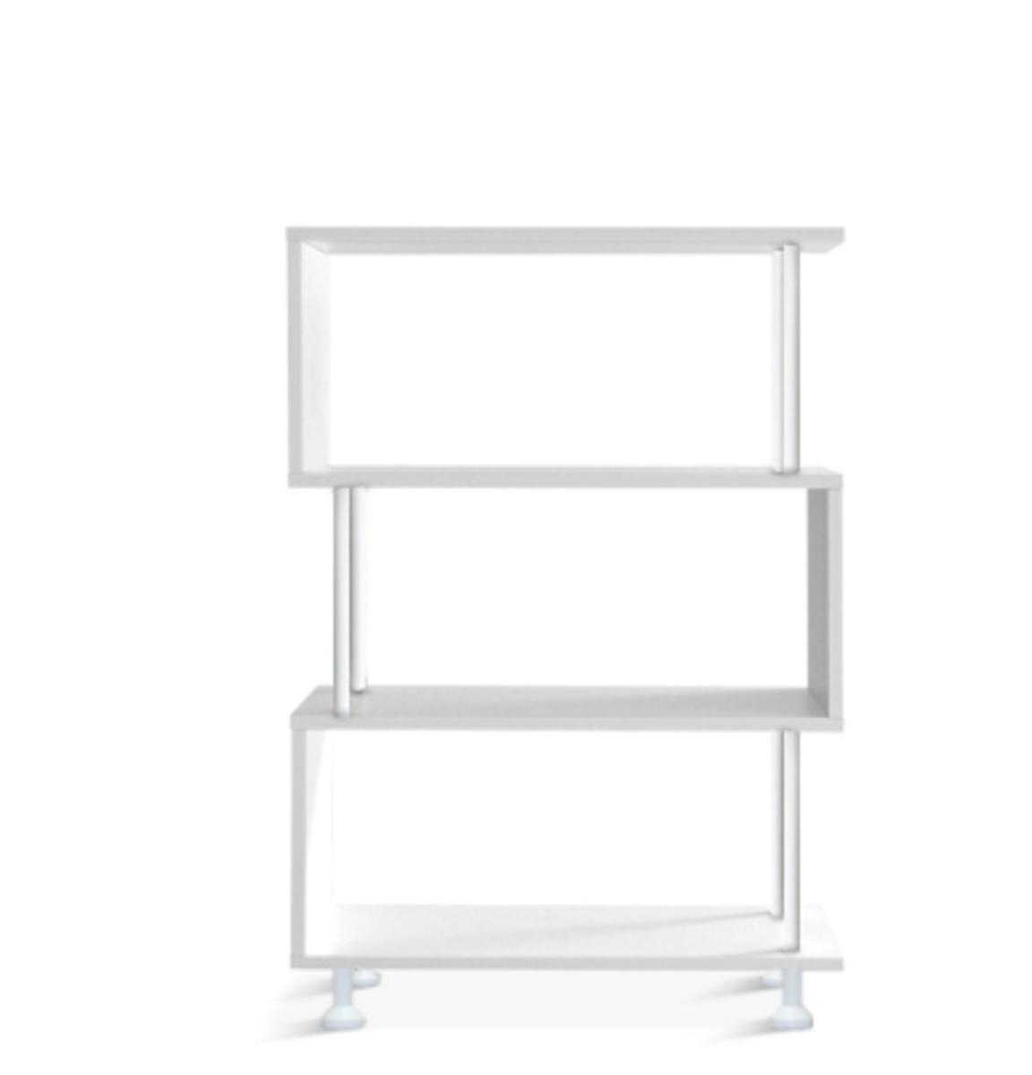 白色置物架 隔廳櫃(三層)