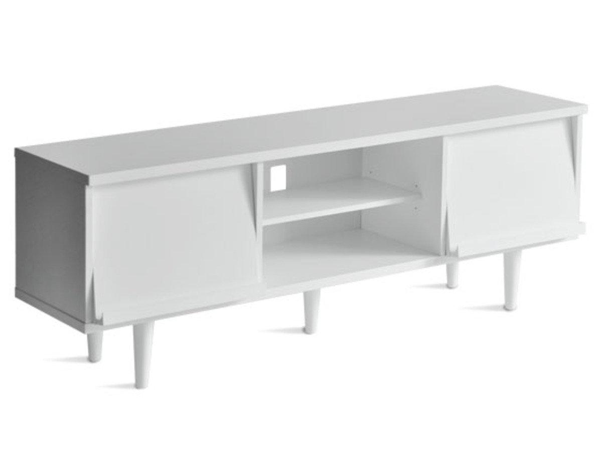 日式儲物電視櫃(白色)