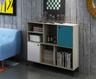 簡約橡木色書櫃
