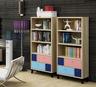 彩色烤漆書櫃