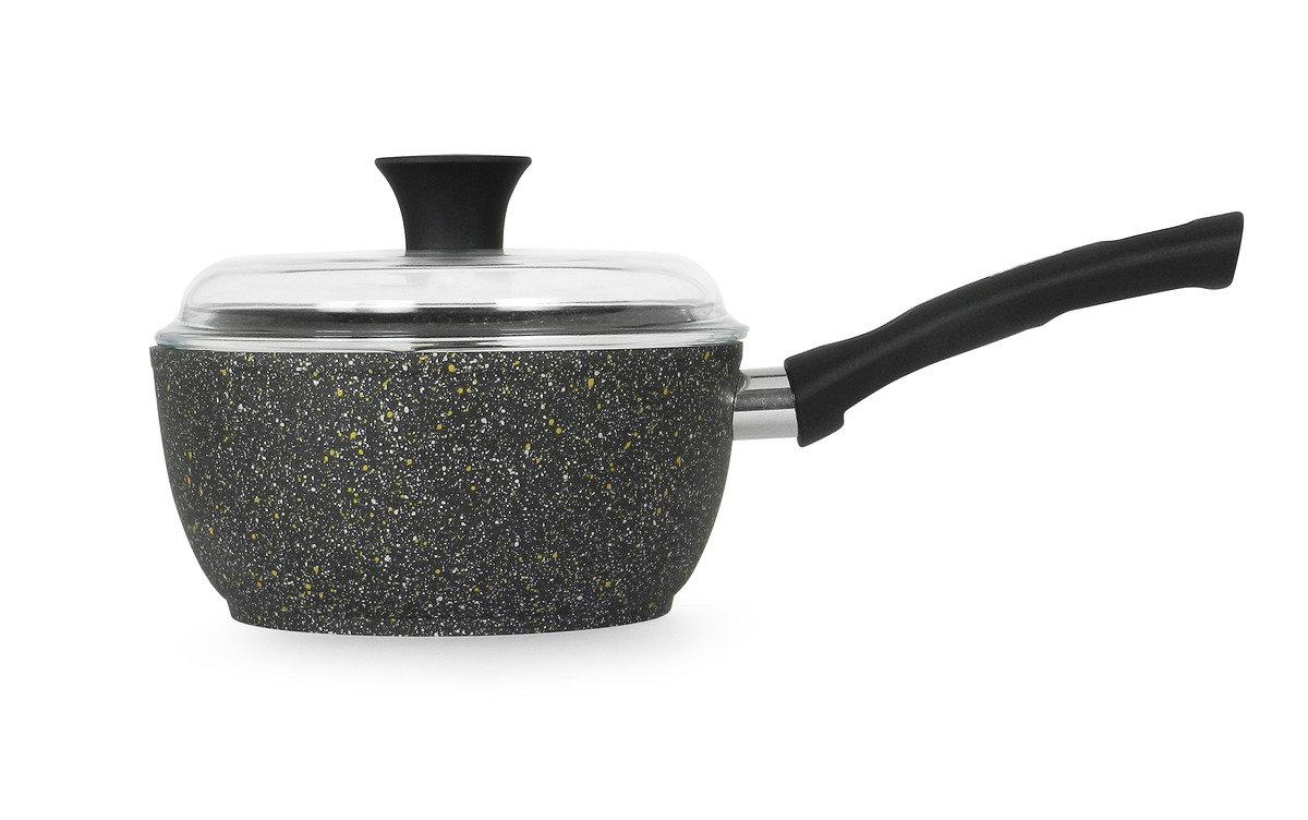 意諾 18 cm 單柄湯鍋連高級耐熱玻璃蓋