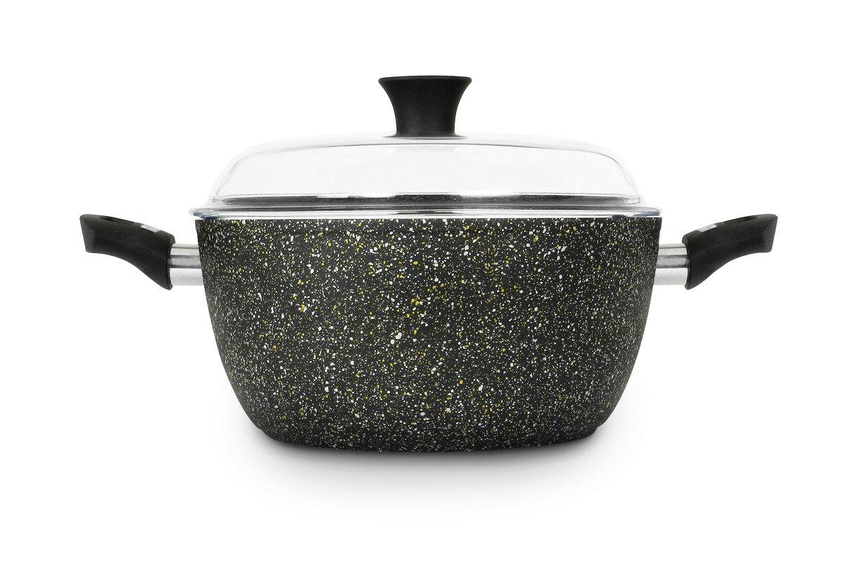 意諾 24 cm 高身湯鍋連高級耐熱玻璃蓋