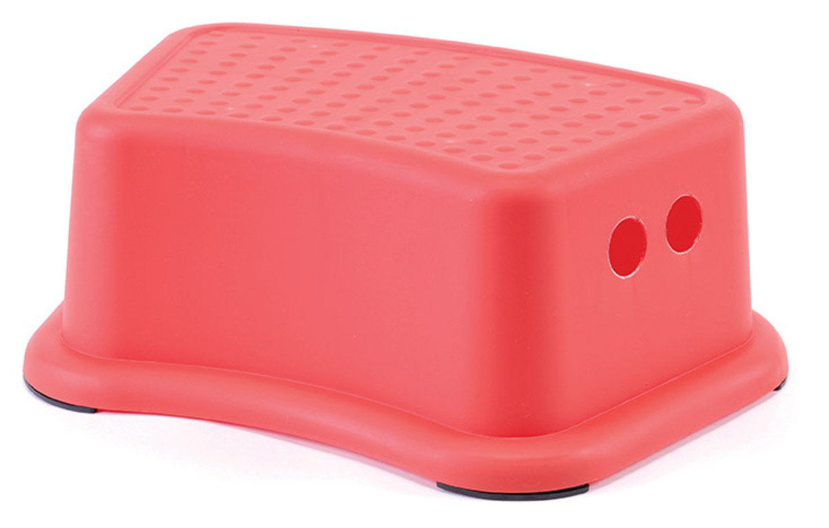 13cm高方形凳 (紅色/藍色)(顏色隨機派送)