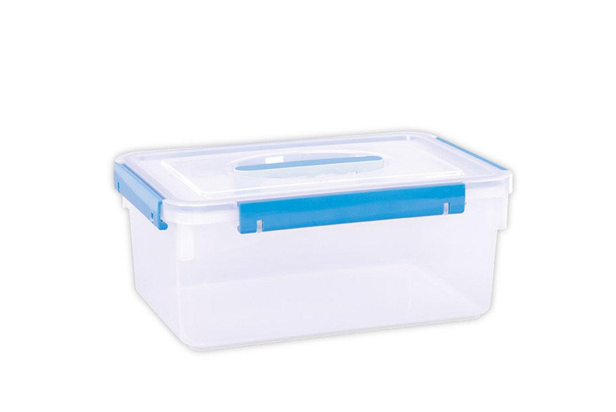 手提密封儲物箱 (紅色/藍色/黃色/青色)(顏色隨機派送)