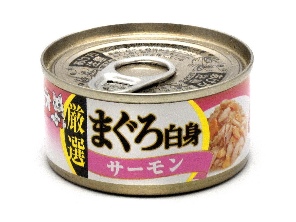 日式貓罐頭 (白身吞拿魚 配 三文魚)