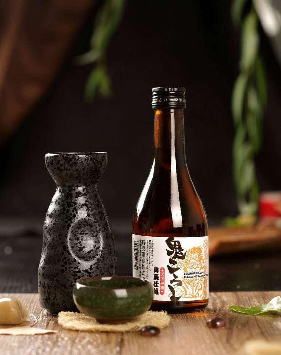 神鶴-普通清酒-天下和平鬼酒鬼 (日本直送)