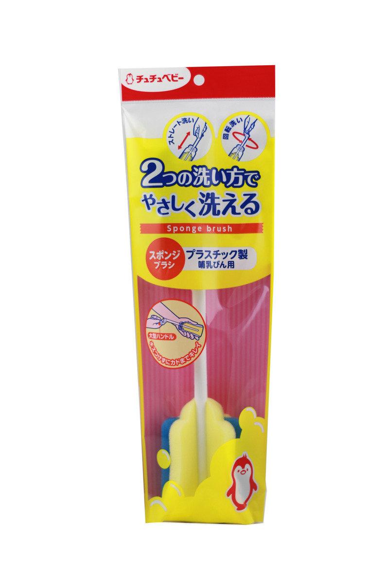 海綿奶瓶刷 (塑膠奶瓶專用)